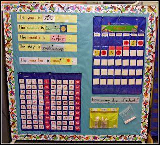 25 best ideas about kindergarten calendar math on 843 | 4a7fa7fd68b85f8851d3c409df24da36 kindergarten classroom decor kindergarten calendar