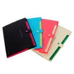 Convenient Waterproof Book A4 Paper File Folder Bag Accordion Style Design Document Rectangle Office Home School Color Random