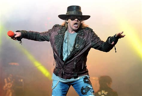 acdc  guns  roses frontman axl rose expected
