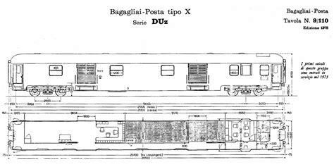 carrozze treni carrozze uic x parte settima postali e bagagliai