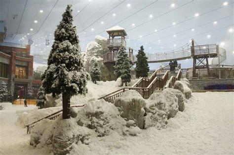snow park  ski dubai thinkwell
