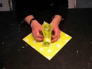 Pliage Serviette Lapin Simple : pliage de serviette en forme de lapin pour p ques youtube ~ Melissatoandfro.com Idées de Décoration