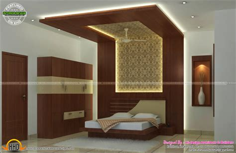 Images Of Model Homes Interiors - interior bed room living room dining kitchen kerala home design and floor plans
