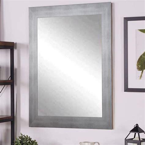 Silver Wall Mirrors Decorative - timberwolf silver decorative wall mirror bm040l2 the