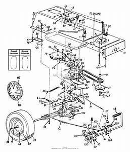 33 Mtd Drive Belt Diagram