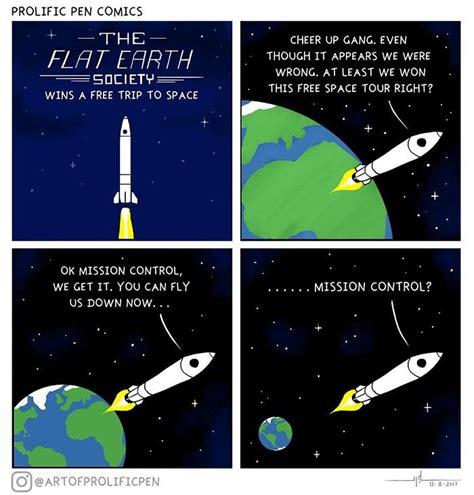 people  trolling flat earthers  hilarious memes barnorama