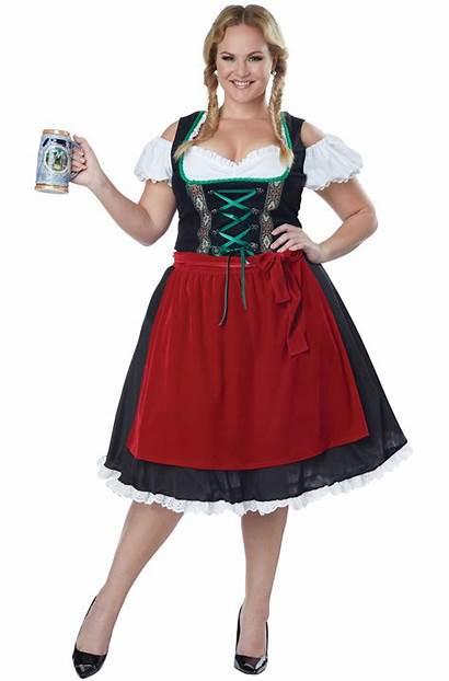 Fraulein Plus Oktoberfest Costume Purecostumes