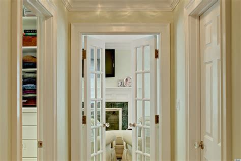 10 Homes With French Doors That Are Just So Gorgeous (photos How Big Is A Standard Size Bathtub Breath Holding Sterling Ensemble Vikrell Wall Surround Installation Antique Legs Replace Drain Assembly To Remove Mold From Jets Dimensions Of Normal Much Do Bathtubs Cost