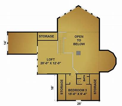 Misty Lake 2nd Floor Plans