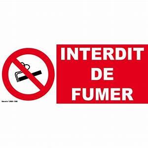 Panneau Interdiction De Fumer : panneau interdit de fumer ~ Melissatoandfro.com Idées de Décoration