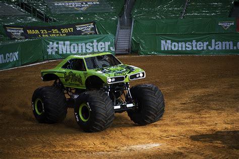 monster truck jam ta bj johnson and the gas monkey garage monster jam truck are