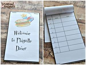 Restaurant Order Pads Template 6 Best Images Of Printable Server Pad Play
