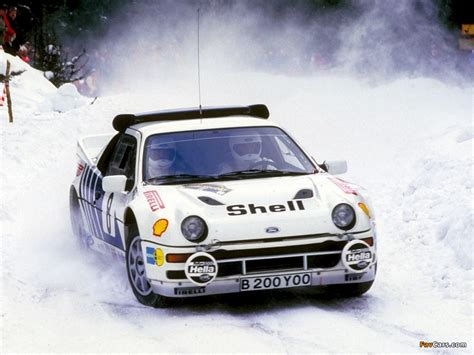 Pictures of Ford RS200 Group B Rally Car (1024x768)