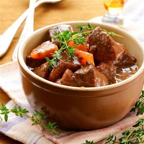 cuisiner le boeuf recette boeuf aux carottes à la cocotte minute