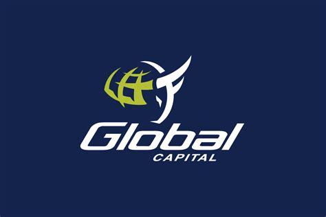 global capital bull logo design logo cowboy