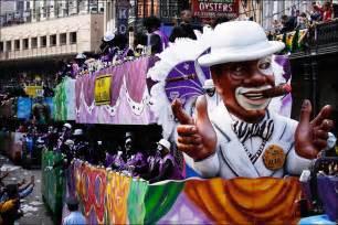 New Orleans Mardi Gras Zulu Parade