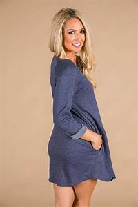Endless Style Tunic in Indigo Blue • Impressions Online ...