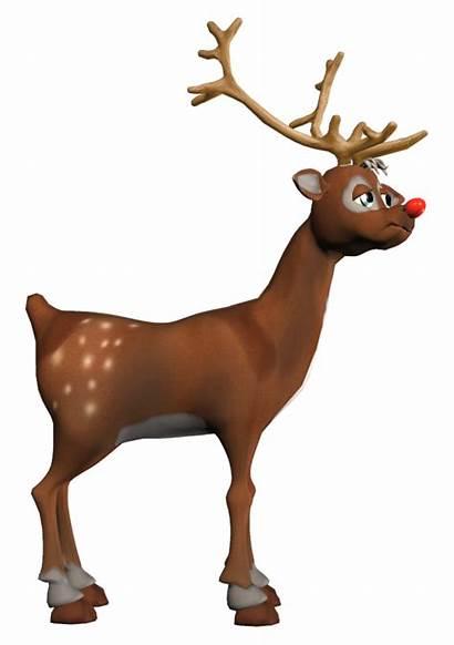 Rudolf Clipart Reindeer Deer Cartoon Yopriceville Transparent