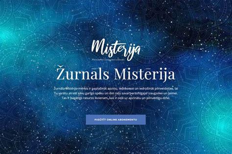 Žurnāls Mistērija - Tavas personīgās izaugsmes ceļvedis