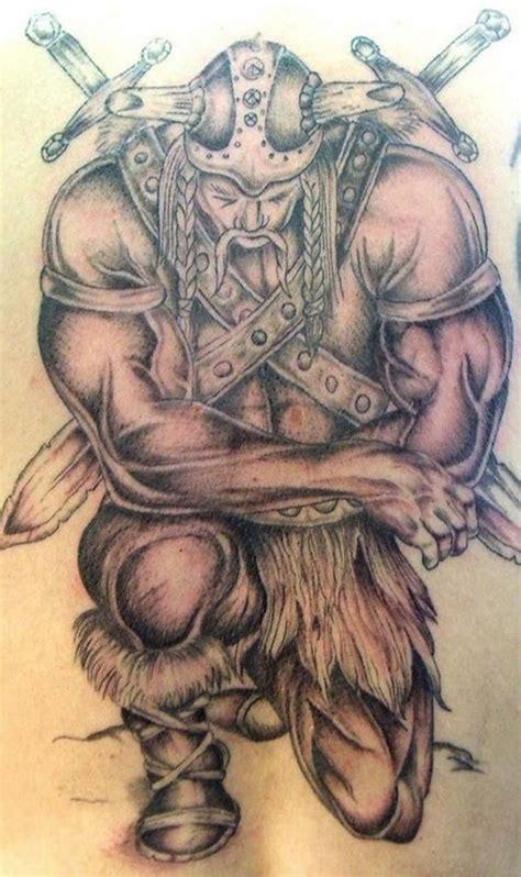 amazing warrior tattoos