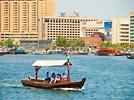 水上的士 (阿布) 迪拜河 — 图库社论照片 © ivanmateev #63379991