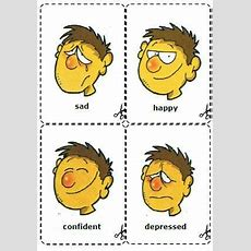 Feelings And Emotions Flashcards  English Lesson  Pinterest  Feelings, English Lessons And
