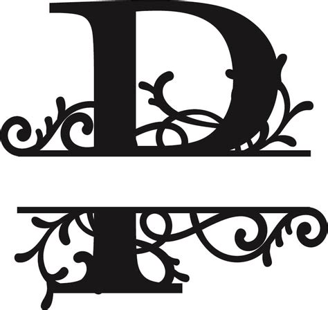 flourished split monogram p letter eps  vector  axisco