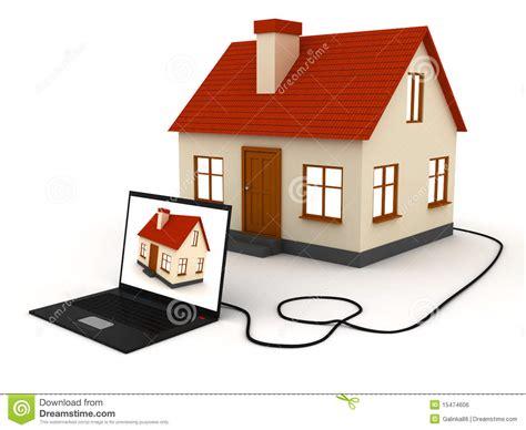 Online Real Estate Royalty Free Stock Image  Image 15474606