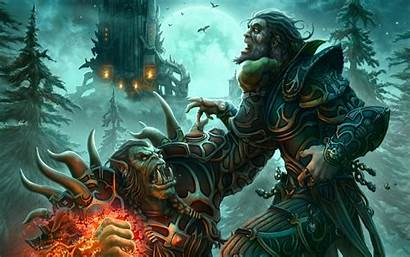 Animated Warcraft Orc Wallpapers