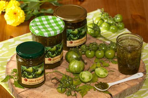 cuisine tomates vertes confiture de tomates vertes aux épices de noël et au yuzu