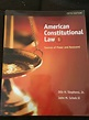 American Constitutional Law Vol. 1 : Sources of Power and ...