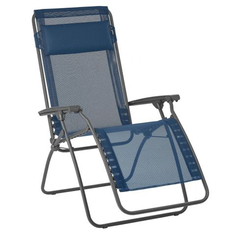 fauteuil lafuma de plein air pour equipement camping car
