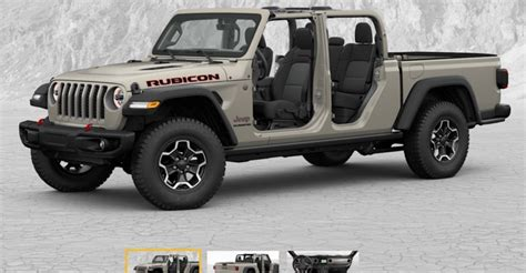 jeep gladiator build price configurator    jeep wrangler jl news  forum