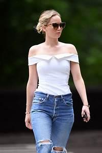 Jennifer Lawrence - Central Park in New York City 06/15/2017