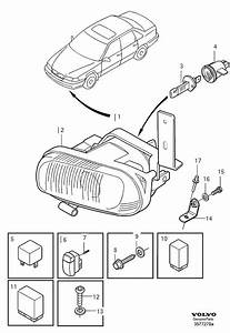 1998 Volvo V70 Relay  Heating  Detachable  Horn