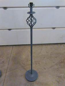 repurpose an old standing floor lamp into a plant stand With floor lamp with plant stand