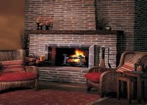 rustic brick fireplaces