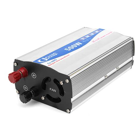 500w home power inverter pure sine wave 12v dc to 220v ac transmitter charger sale banggood com