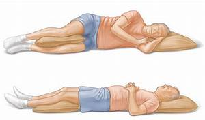 the best sleeping positions for a bad back With best sleeping position for bad back