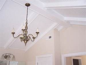 Decorative Ceiling Beams pine planked ceiling washed in
