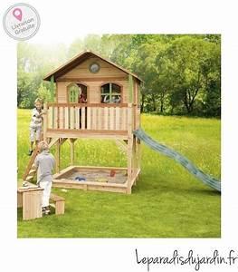 Grande Cabane Enfant : maisonnette en bois grande dimension pour enfant ~ Melissatoandfro.com Idées de Décoration
