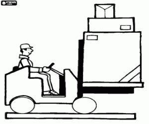 construction vehicles coloring pages printable