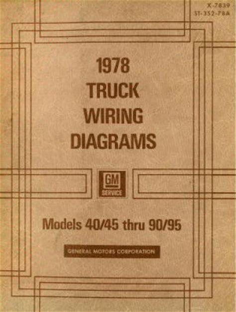 Gmc Truck Wiring Diagrams Manual Used