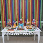decoracao festa infantil cocorico bernardo  anos