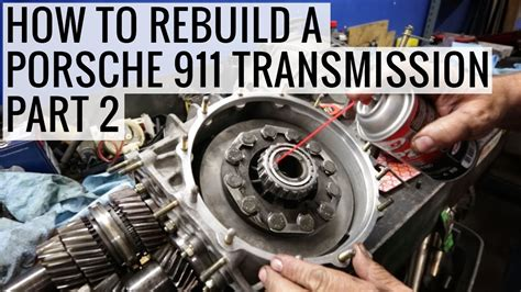 auto repair manual online 2003 porsche 911 transmission control how to rebuild a porsche 911 transmission part 2 porsche 930 project ep10 youtube