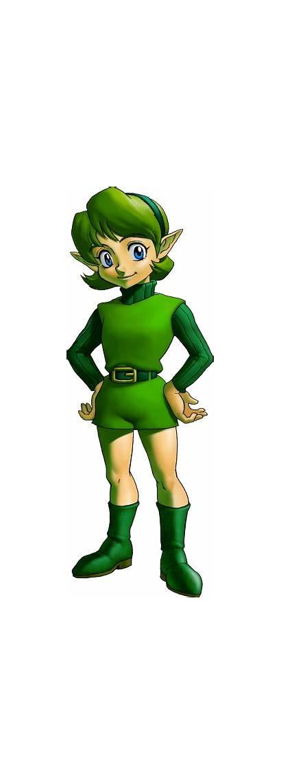 Saria Zelda Ocarina Legend Characters Character Anime