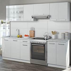 Küche 240 Cm Mit Elektrogeräten : vicco k che 240 cm k chenzeile k chenblock real ~ Bigdaddyawards.com Haus und Dekorationen