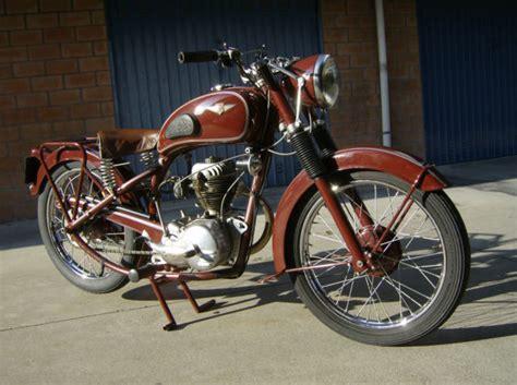 French Motorcycle Brand Gima Type 74 1950 Cc125 Engine Amc