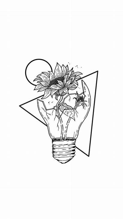 Aesthetic Drawings Sketches Tattoo Broken Flower Tattoos