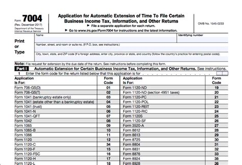 how to file for a federal tax extension bench